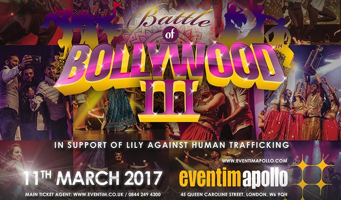 Battle of Bollywood III tickets at Eventim Apollo in London