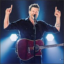 Blake Shelton tickets at Tacoma Dome, Tacoma