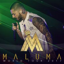 Maluma tickets at City National Civic in San Jose