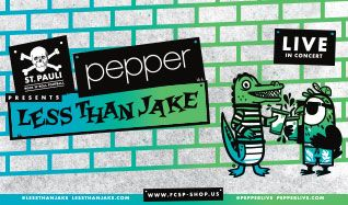 Pepper & Less Than Jake tickets at The Warfield in San Francisco