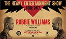 Robbie Williams tickets at Tele2 Arena in Stockholm