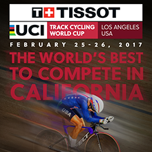 The Tissot UCI Track Cycling World Cup tickets