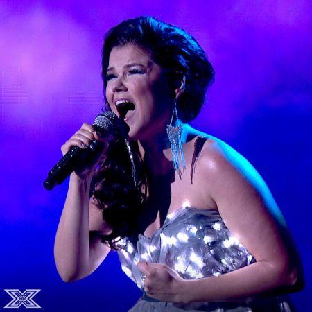 'The X Factor UK': Saara Aalto sleighs her way through Christmas week and shines