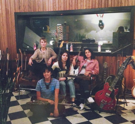 La Luz will come bearing the gifts of new music, fun times at their final show of 2016 in LA