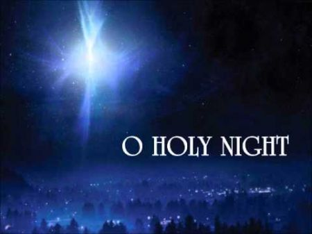 The lyrics to 'O Holy Night' are a bit tricky