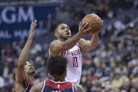 Eric Gordon is making a name for himself coming off the Houston bench.