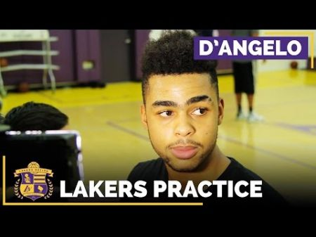 Lakers PG D'Angelo Russell wants to 'take it up a notch' upon return