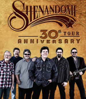 Shenandoah announce 30th Anniversary Tour.