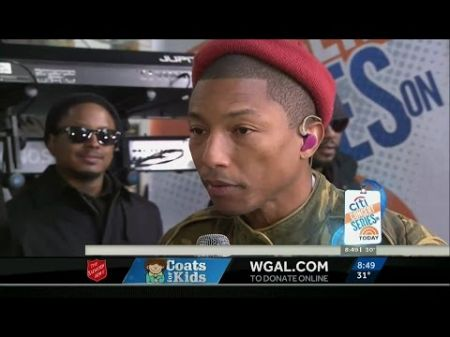 Pharrell Williams touches heaven with Kim Burrell on 'Today' before Little Big Town reconnection