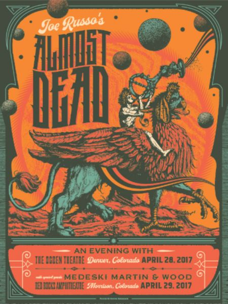Joe Russo's Almost Dead is coming back to Colorado in 2017