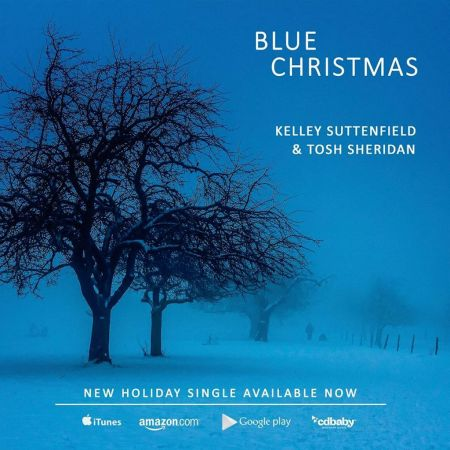 "New York-based jazz vocalist Kelley Suttenfield takes a chance on a childhood holiday classic with her new single, ""Blue Christmas."""