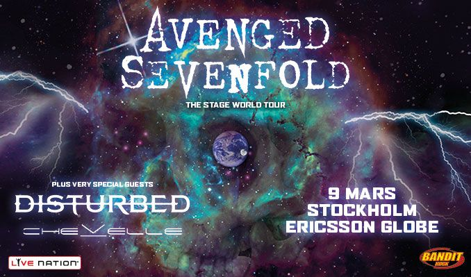 Avenged Sevenfold tickets at Ericsson Globe in Stockholm