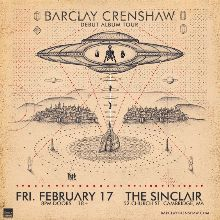 Barclay Crenshaw tickets at The Sinclair in Cambridge