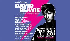 Celebrating David Bowie tickets at Terminal 5 in New York