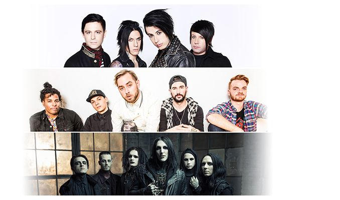 Falling In Reverse, Issues, Motionless In White tickets at Showbox SoDo in Seattle