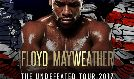 Floyd Mayweather The Undefeated Tour 2017 tickets at indigo at The O2 in London
