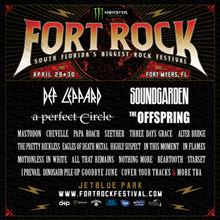 Fort Rock 2017-Def Leppard,Soundgarden, A Perfect Circle tickets at JetBlue Park in Fort Myers