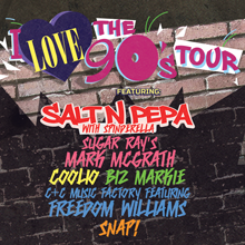 I Love the 90's Tour tickets at Microsoft Theater in Los Angeles