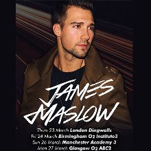 James Maslow tickets at O2 Academy 2 Islington in London