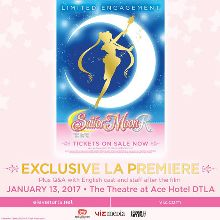Sailor Moon R: The Movie | Special Premiere Event tickets at The Theatre at Ace Hotel in Los Angeles