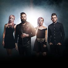 Skillet tickets at City National Grove of Anaheim in Anaheim
