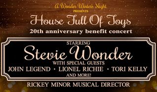 The 20th Anniversary of Stevie Wonder's House Full of Toys Benefit Concert tickets at Microsoft Theater in Los Angeles