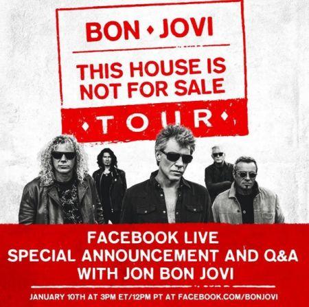 Bon jovi tour dates in Perth