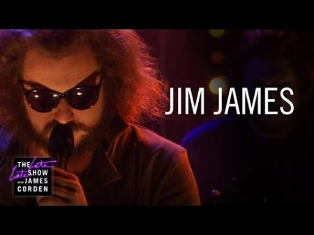 Jim James brings reason to smile on James Corden, celebrating a refreshed mission in music