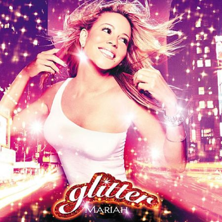 Mariah Carey's Glitter Album Cover.