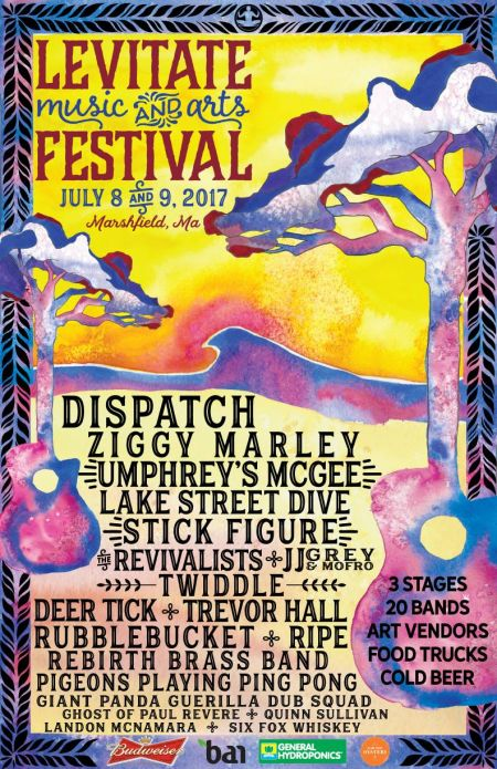 Levitate Music and Arts Festival poster