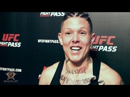 MMA fighter Christine Ferea shrugs off criticism of her appearance