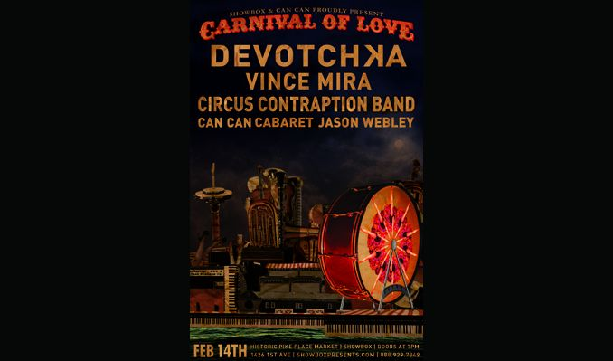 DeVotchKa tickets at The Showbox in Seattle