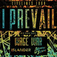 I Prevail tickets at Gothic Theatre in Englewood