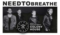 NEEDTOBREATHE tickets at Starland Ballroom in Sayreville
