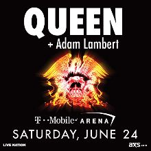 Queen + Adam Lambert tickets at T-Mobile Arena in Las Vegas