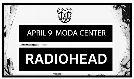 Radiohead tickets at Moda Center in Portland