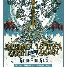 Railroad Earth, Leftover Salmon tickets at Red Rocks Amphitheatre in Morrison