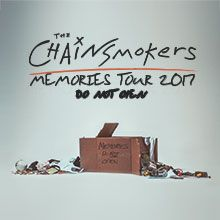 The Chainsmokers tickets at Sprint Center in Kansas City