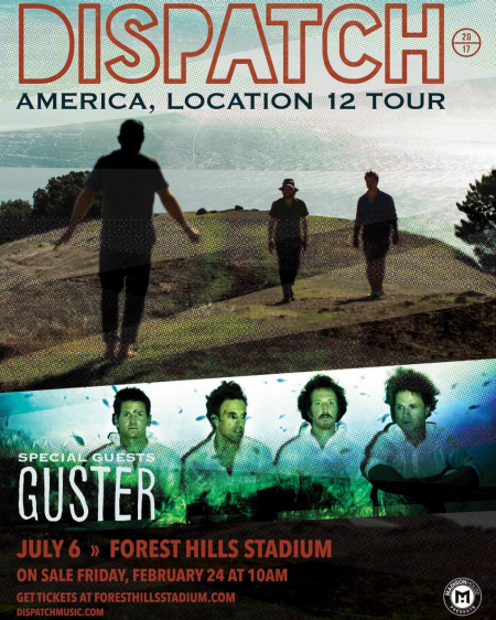 Dispatch to play Queens  Forest Hills Stadium for the first time on 2017 tour