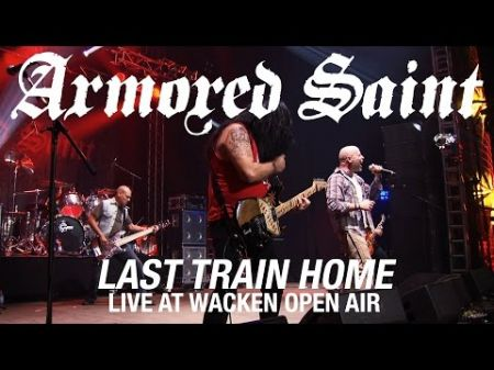 Armored Saint launches 'Last Train Home (Live)' video online