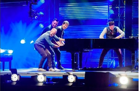 ThePianoGuys announce Red Rocks show
