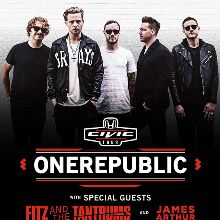 OneRepublic tickets at Fiddler's Green Amphitheatre in Greenwood Village