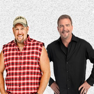 Larry The Cable Guy and Bill Engvall
