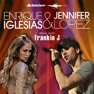 Enrique Iglesias and Jennifer Lopez