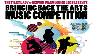 3rd Annual Bringing Back The Arts Music Competition tickets at Bluebird Theater in Denver