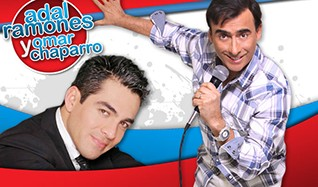 Adal Ramones & Omar Chaparro tickets at Club Nokia in Los Angeles