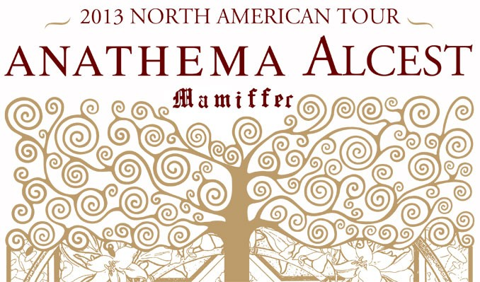 ANATHEMA and Alcest