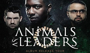 Animals As Leaders tickets at The Regency Ballroom in San Francisco