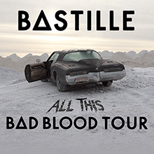 Bastille tickets at The Warfield in San Francisco
