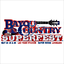 Bayou Country Superfest - Sunday tickets at LSU Tiger Stadium in Baton Rouge